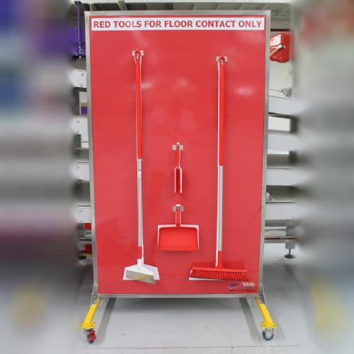 Signage Mobile Red Tools