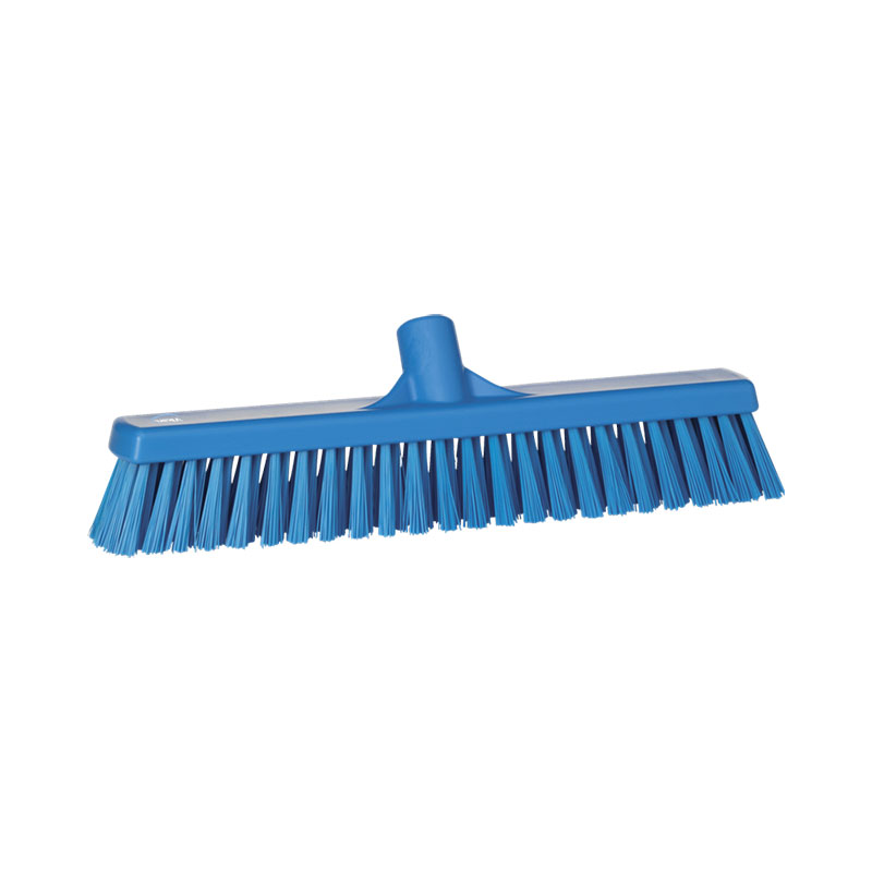 Floor Broom, Soft/Hard Bristle, 410 Mm