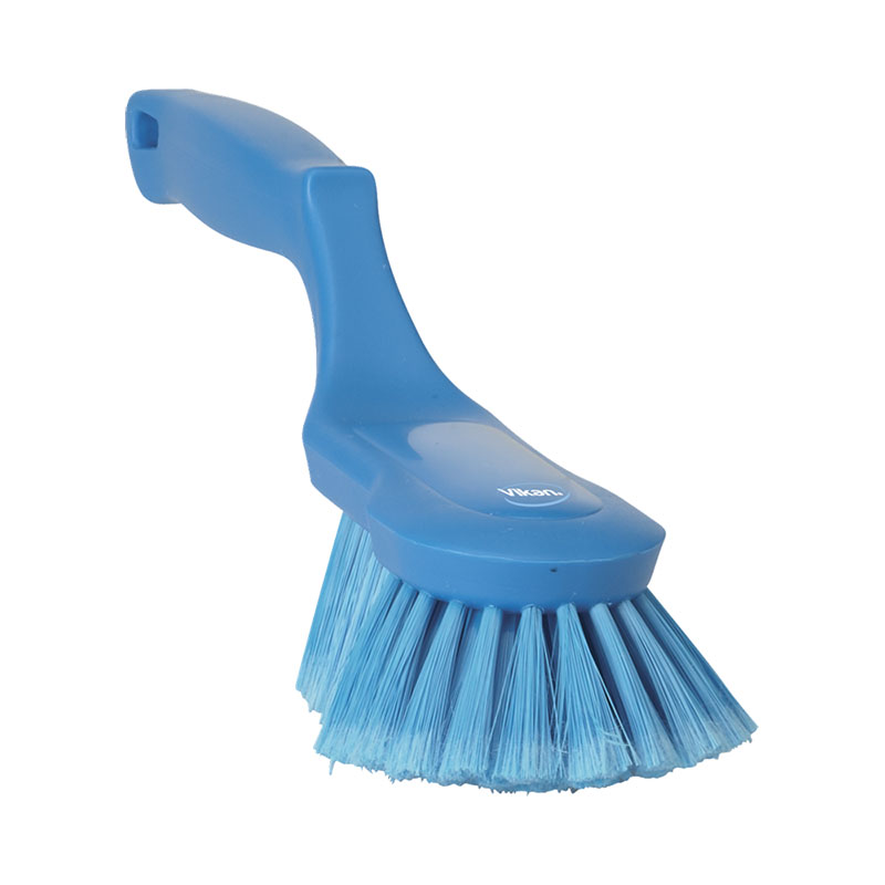 Ergonomic Hand Brush, Soft / Split Bristle, 330 Mm