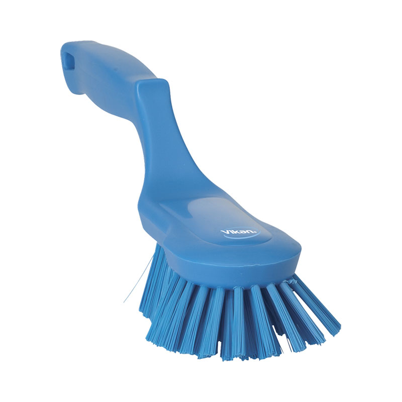 Ergonomic Hand Brush, Stiff Bristle, 330 Mm
