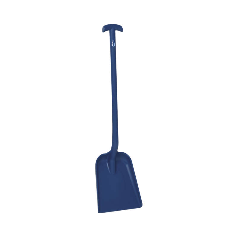 Detectable Shovel, T Grip, Short Handle, Small Blade