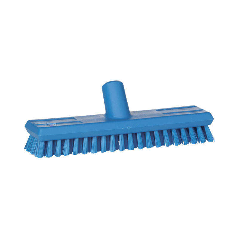Floor Scrub, Stiff Bristle, Waterfed, 270 Mm