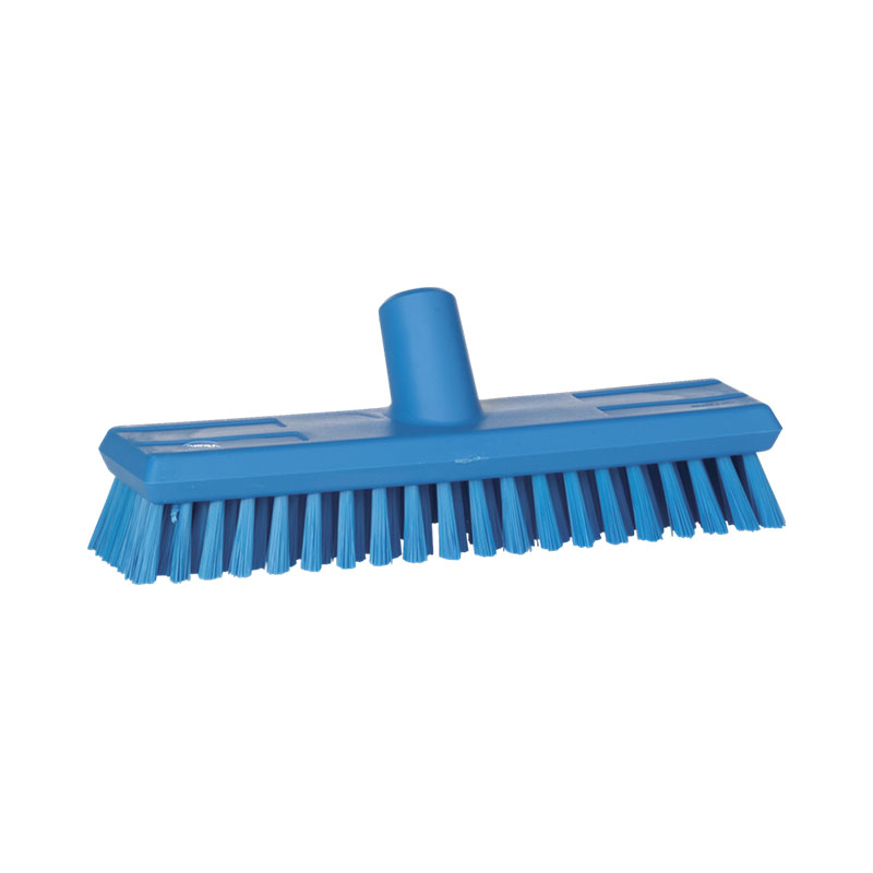 Floor Scrub, Medium Bristle, Waterfed, 270 Mm