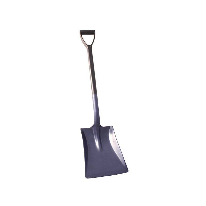 Detectable Shovel, Two Piece, Short Handle, Large Blade