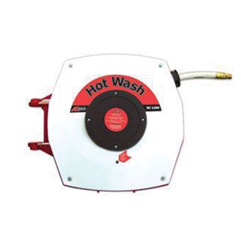 Hot Wash Hose Reel, 12 Metres