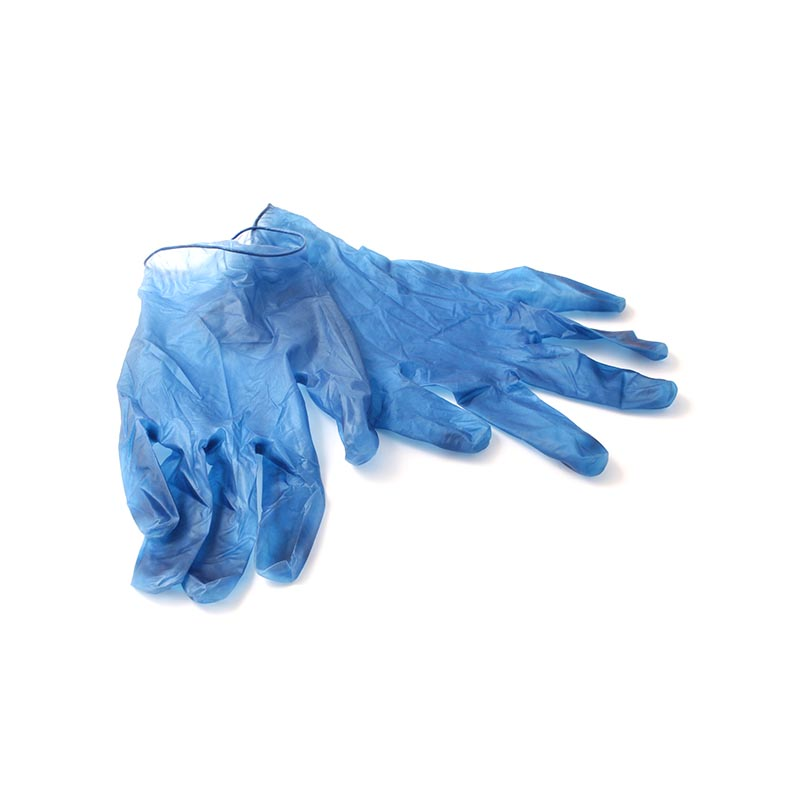 Detectable Vinyl Gloves, Various Sizes, 100 Pk