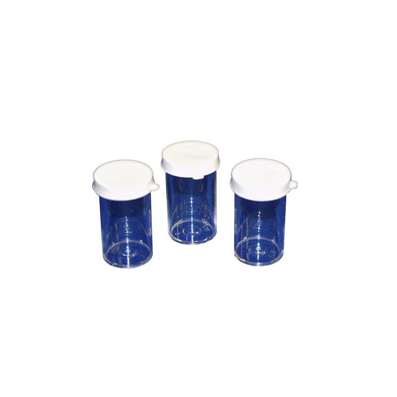 Glass Sample Tubes, 2.5 Ml, Box Of 12