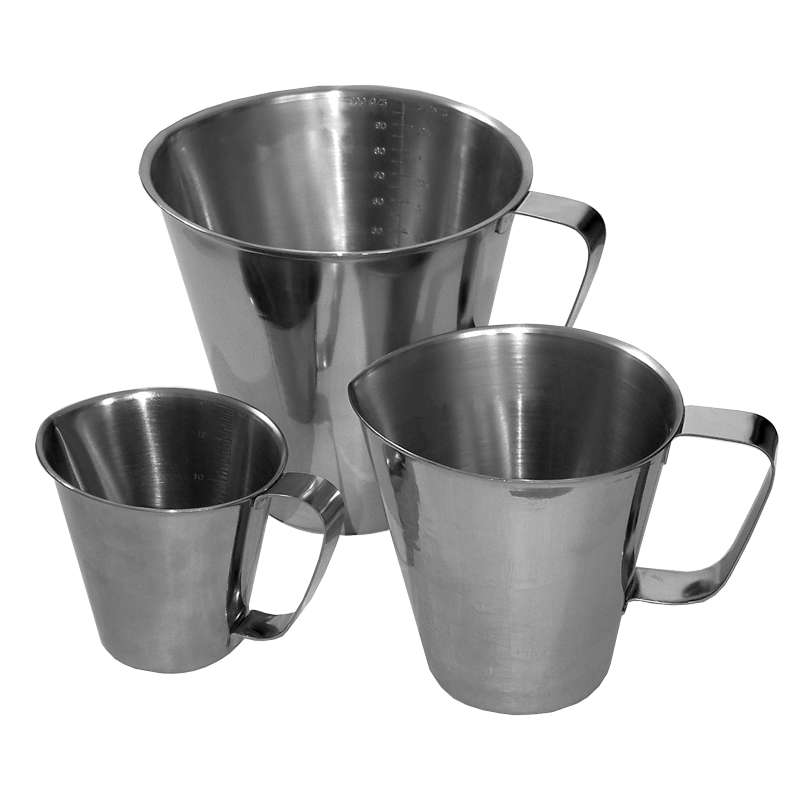Measuring Jug, Stainless Steel, 1 Litre
