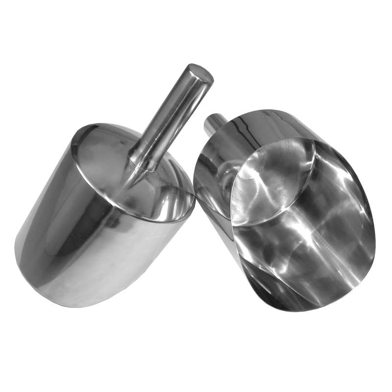 Hand Scoop. Stainless Steel,  2 Litre