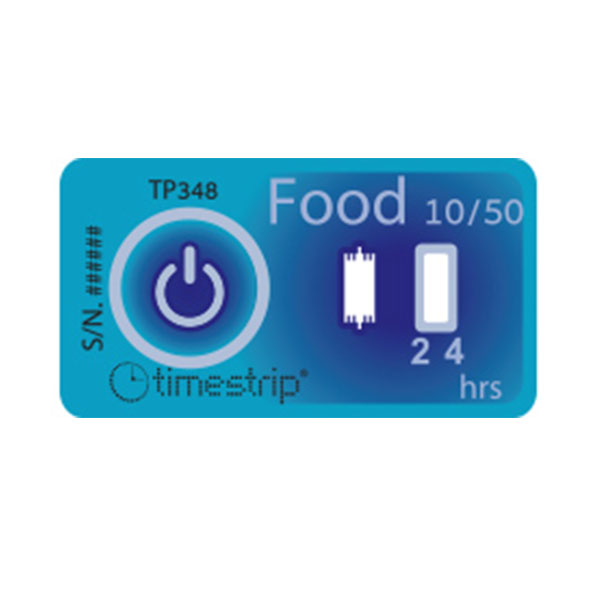 Timestrip Food Temp 10