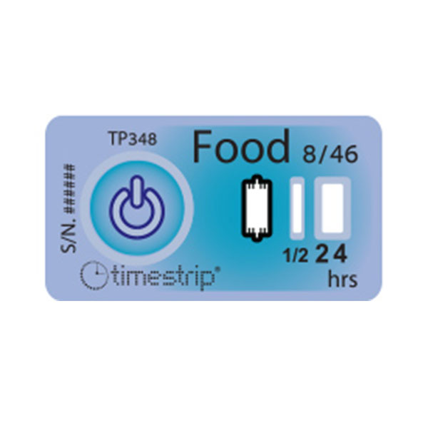 Timestrip Food Temp 8