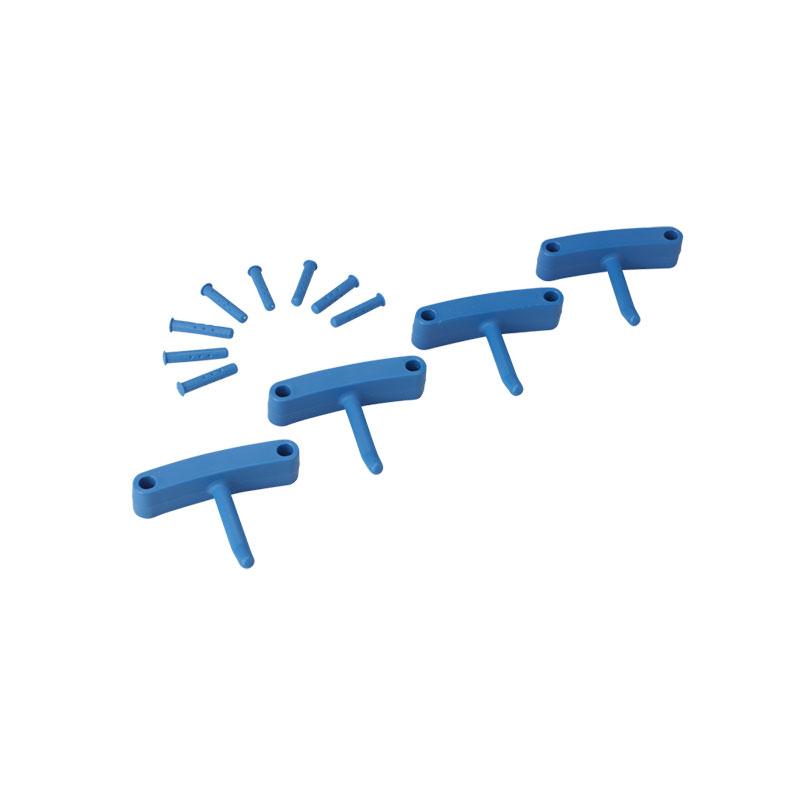 Replacement Hooks F/ Wall Bracket, 4 Pk