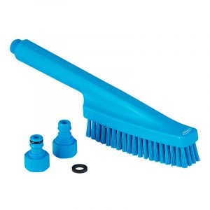 Vikan Hand Brush, Stiff Bristle, Waterfed