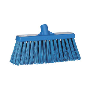 Vikan Yard Broom, Hard Bristle, 330 Mm