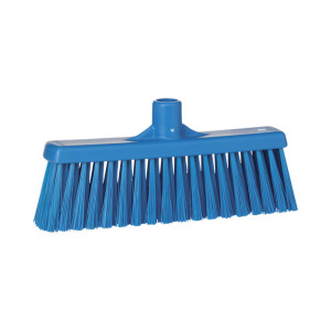 Vikan Floor Broom, Straight Neck, Medium Bristle, 310 Mm