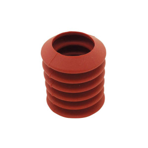 Detectable Suction Caps, Soft, Ø40 Mm W/ 25 Mm Hole, 100 Pk