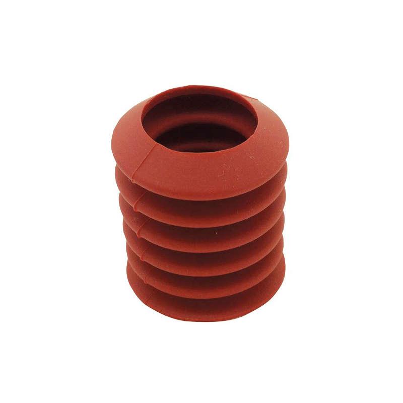 Detectable Suction Caps, Soft, Ø40 mm w/ 25 mm Hole, 100 Pk