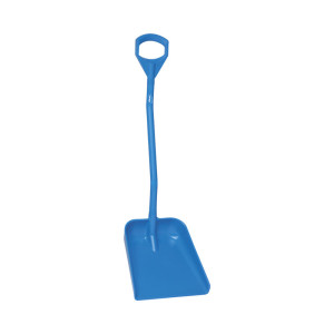 Ergonomic Shovel, Short Handle, Large Blade