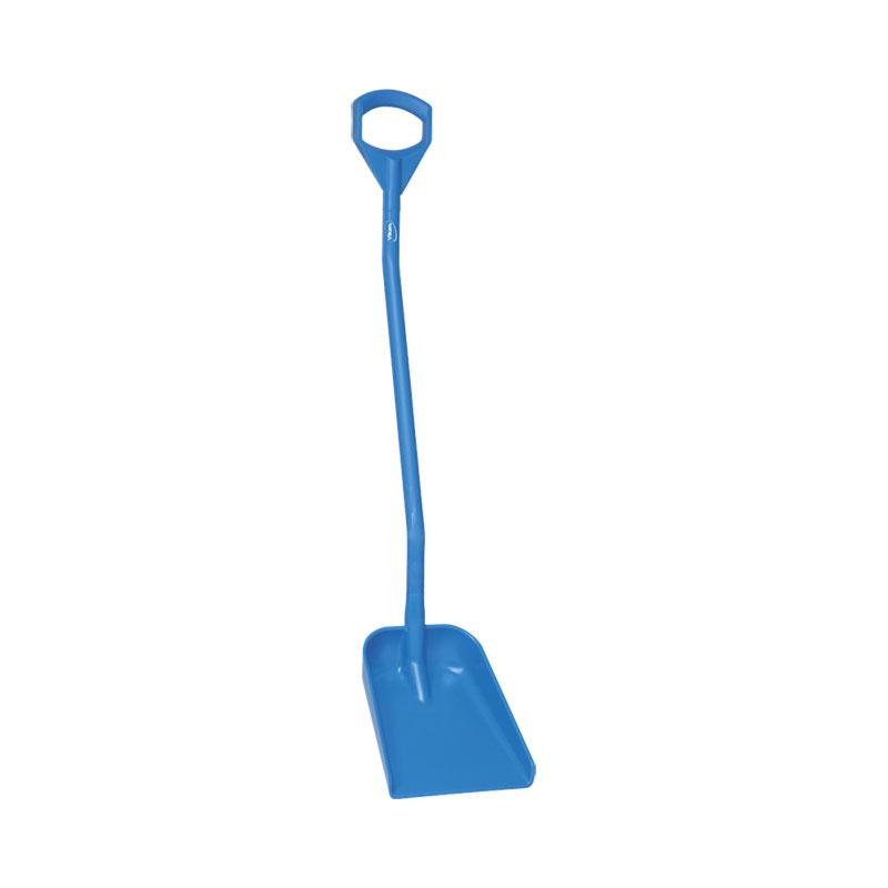Ergonomic Shovel, Long Handle, Small Blade,
