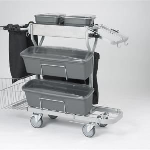 Vikan Compact Cleaning Trolley Plus, 60 Cm