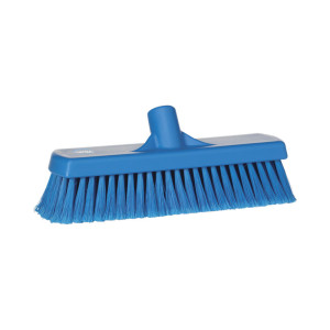 Vikan Floor Broom, Soft Bristle, 300 Mm