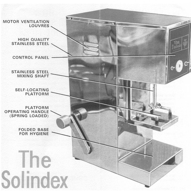 Solindex Milk Solubility Mixer SOL001
