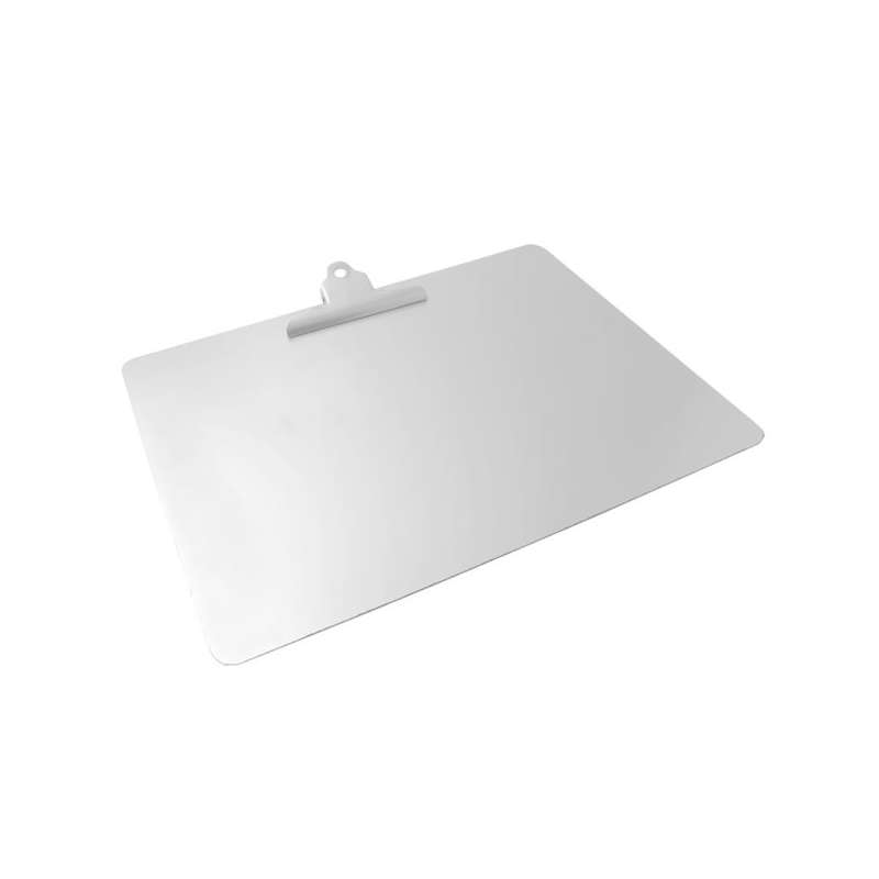 Detectable Clipboard, Stainless Steel, A3