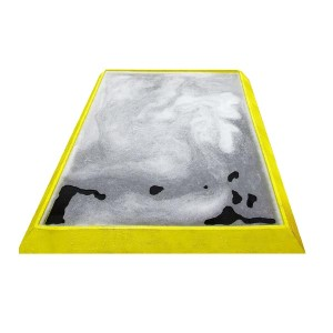 Santising Foot Bath, Black/Yellow, Large