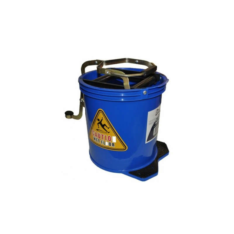 Mop Bucket On Wheels, 16 Litre