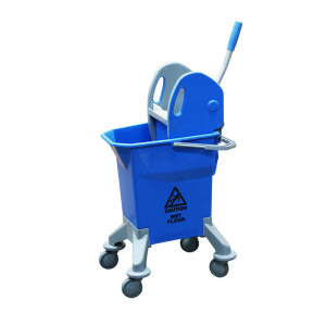 Mop Bucket On Wheels, Tall, 25 Litre