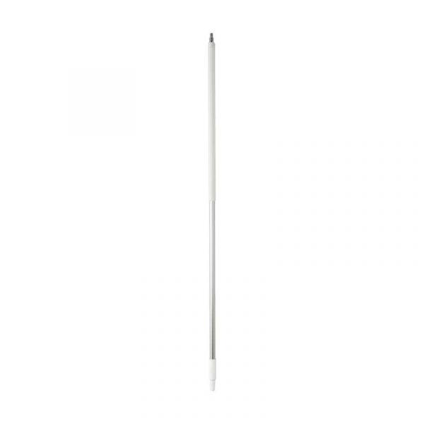 Vikan Aluminium Handle, waterfed, Ø31mm, 1565 mm white