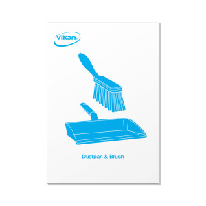 Picture Plate, Dustpan And Brush