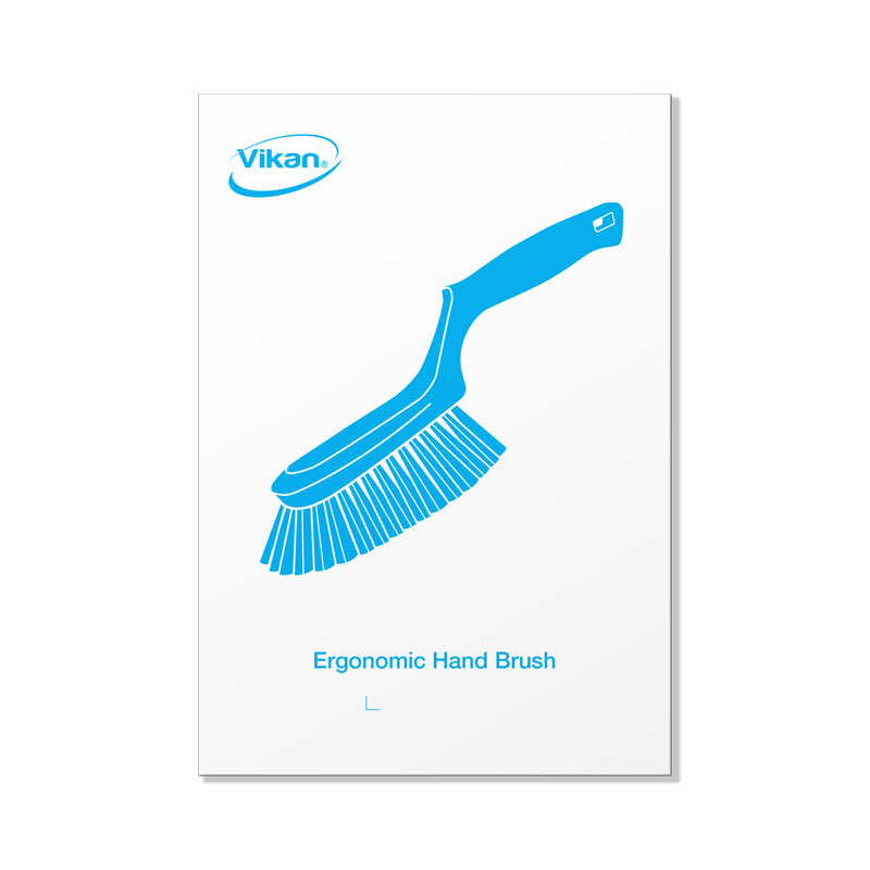 Picture Plate, Ergonomic Hand Brush