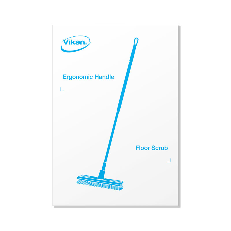 Picture Plate, Floor Scrub