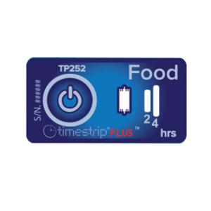 Timestrip Food 5 Deg, 100 Pack
