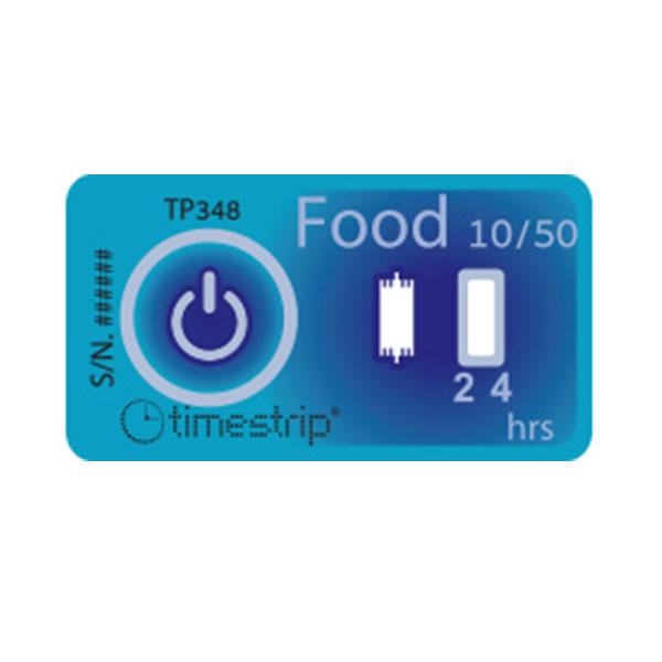 Timestrip Food Temp 10