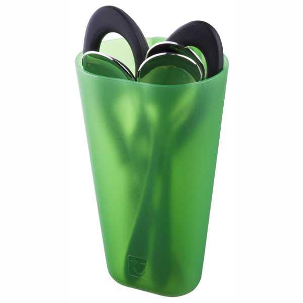 Rack Mounted Storage Jug, Green