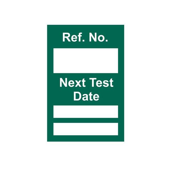 Insert For Mini Asset Tag, Next Test