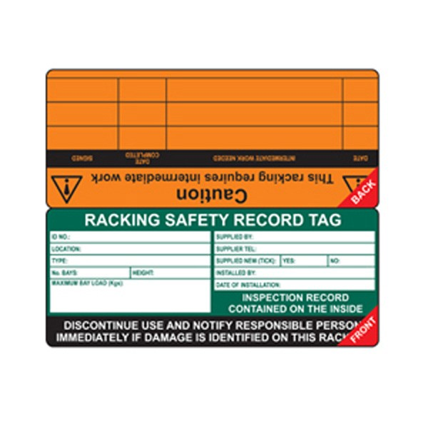 Insert For Racking Tag