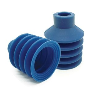 Detectable Suction Cups W/ Long Neck, Hard, Ø40 Mm, 100 Pk
