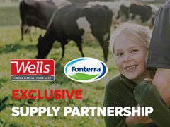 Wells And Fonterra Form New Exclusive Supply Partnership