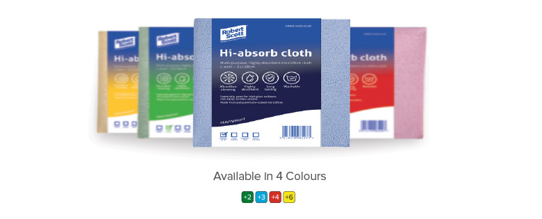 Hygiene colour coded cloth