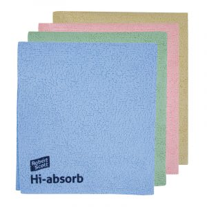 Hi-absorb Microfibre Cloth 35x38cm / Pack Of 10