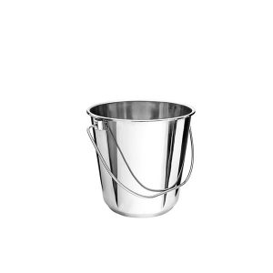 Stainless Steel Bucket, 12 Litre