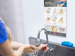 Free Hand Washing In The Workplace Flyer