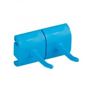 Vikan Hygienic Wall Bracket, Double Hook Module*