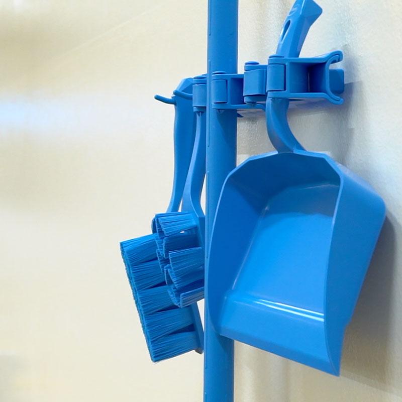 Hygienic Hi-Flex Wall Bracket System