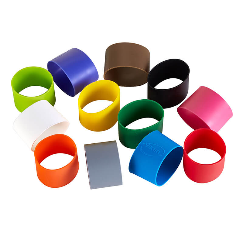 12 Colour Coded Cleaning Bands